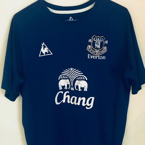 d1d2c594222 Le Coq Sportif Other - Authentic Everton Home Kit By Le Coq Sportif 10 10